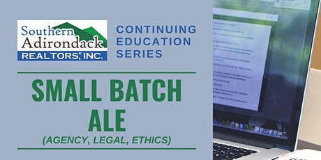 SAR Continuing Education Series | Small Batch ALE tickets