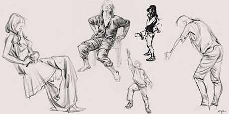 Karl Gnass' Figure Drawing School: Essential Folds & Costume tickets