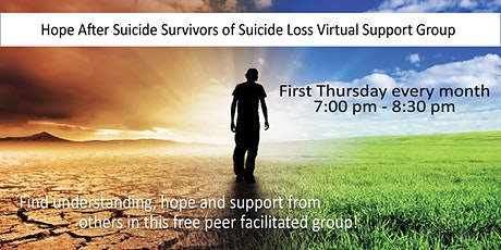 Online Support for Adult Suicide Loss Survivors tickets