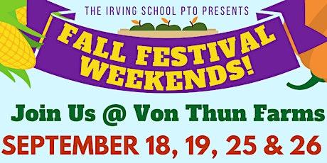 Fall Festival Weekends @ Von Thun Farms tickets