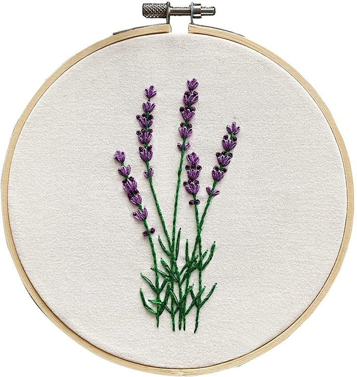 Lavender Fields Needlepoint image