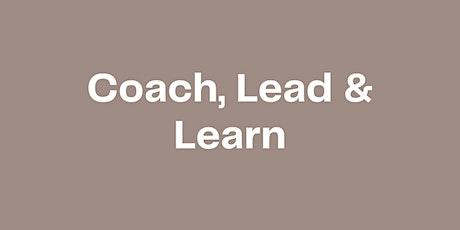 Coach, Learn & Lead - Raum für Reflexion und Entwicklung mit Peers Tickets