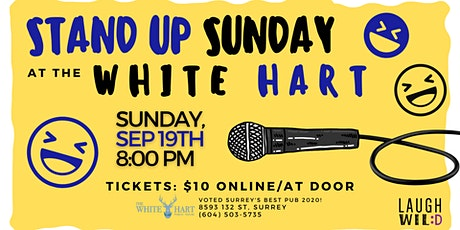 Stand Up Sundays at the White Hart tickets