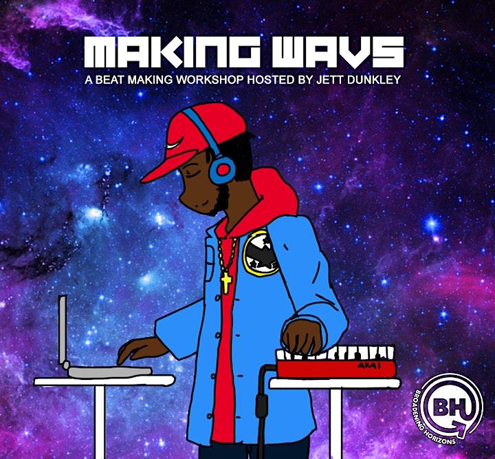 PowerofONE Change-maker Showcase - Making Wavs: A beat making workshop image