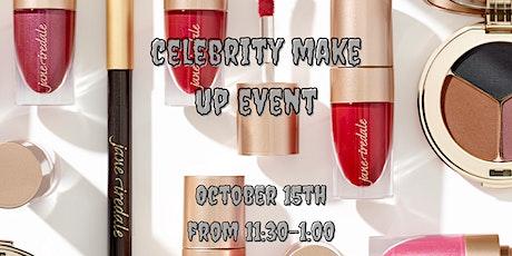 Celebrity Make Up Event tickets
