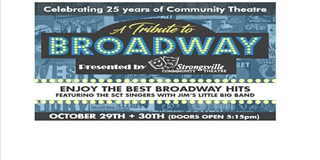 A TRIBUTE TO BROADWAY!(The best Broadway hits performed as a cabaret show.) tickets