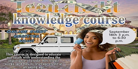 Teen Credit Knowledge Course tickets