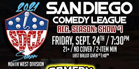 San Diego Comedy League Show LOCATION TBA, Fri. 9/24 , 7:30pm tickets