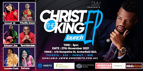 Christ the King EP Launch tickets