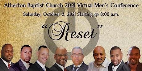 2021  Atherton Baptist Church Men's Conference bilhetes