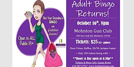 Mohnton Adult Bingo tickets