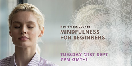 Mindfulness Course for Beginners tickets