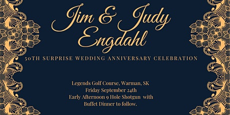 Jim & Judy's 50th Wedding Anniversary Celebration tickets
