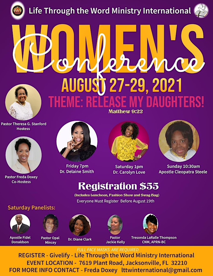 Release My Daughters! - Women's Conference-Matthew 9:22 image