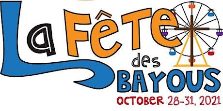 """2021 La Fête des Bayous """"Early Bird Special"""" Ride Bracelet tickets"""