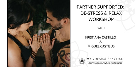 Partner-Supported: De-Stress & Relaxation Workshop tickets
