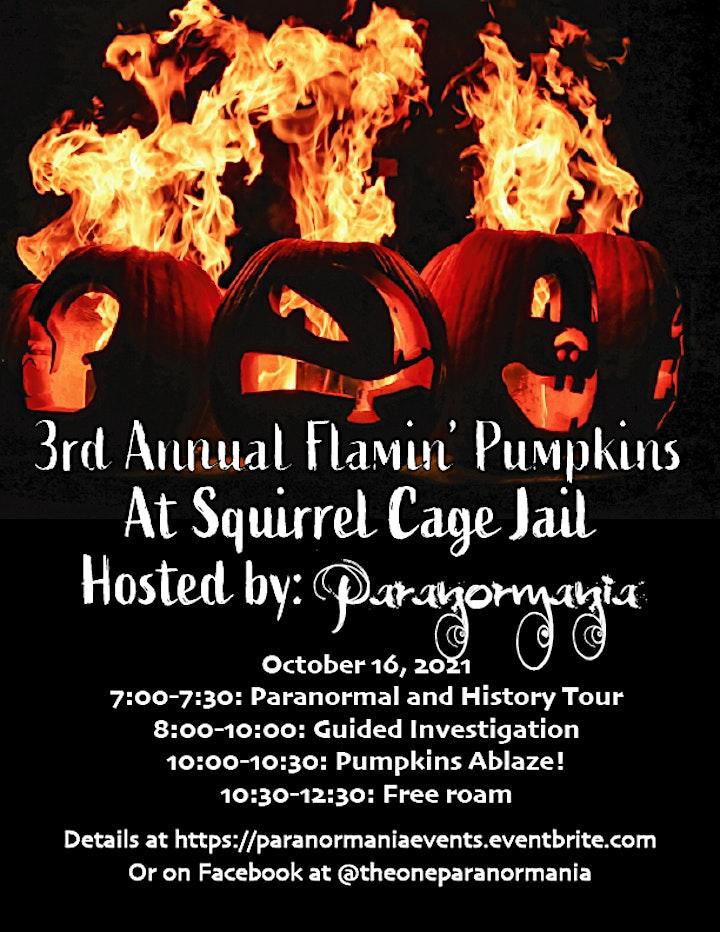 3rd Annual Flamin' Pumpkins image
