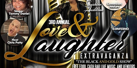 """3rd Annual Love & Laughter Extravaganza Featuring """"Sunshine Anderson"""" tickets"""