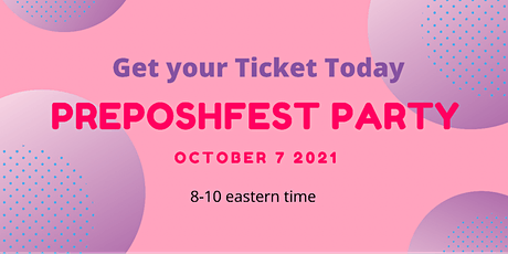 Poshmark POSHFEST VIRTUAL Pre - Party tickets