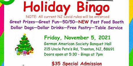 Trenton Cats Rescue Holiday Bingo tickets