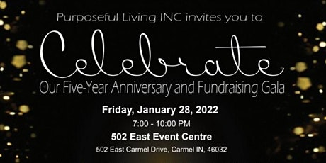 Celebrate -- Five Year Anniversary and Fundraising Gala tickets