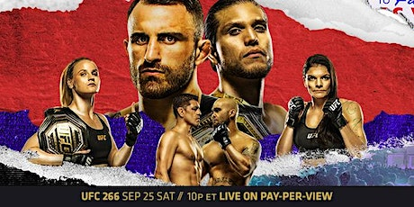 UFC 266 Viewing Party at Mac's Wood Grilled tickets