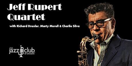 Jeff Rupert Quartet - Monday Night Jazz Cabaret tickets