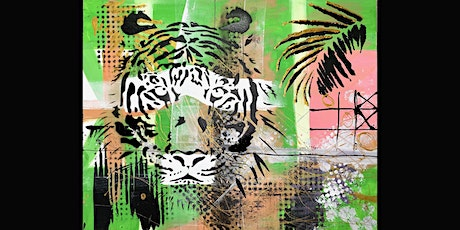 Tiger Paint and Sip Party  1.10.21 tickets