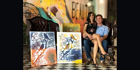 Birds on a branch Paint and Sip Brisbane 8.10.21 tickets