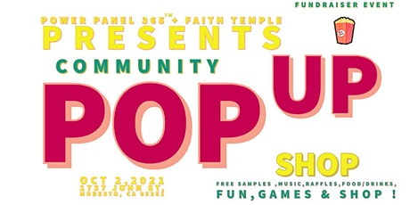 Power panel 365 Pop shop community event  Summer fun tickets