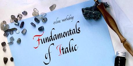 Calligraphy Workshop: Fundamentals of Italic tickets