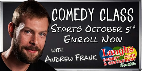 Standup Comedy Class with Andrew Frank tickets