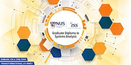 NUS Grad-Dip in Systems Analysis Online Info Session biglietti