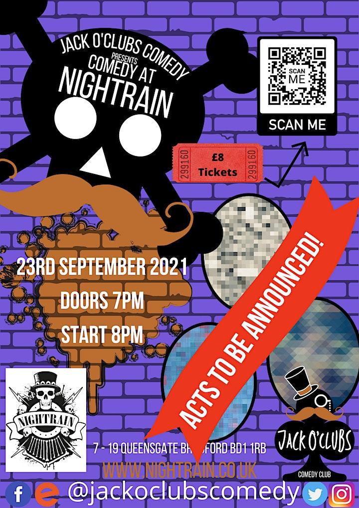 Jack O'Clubs Comedy Night at Nightrain with Big Lou image