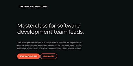 The Principal Developer – Masterclass for software development team leads. tickets