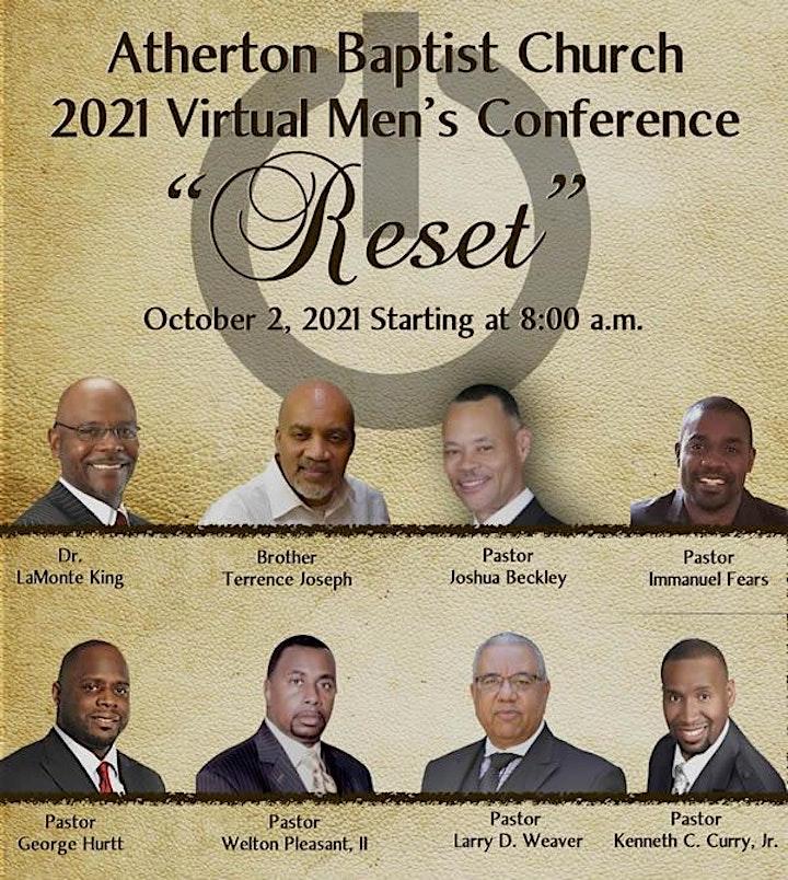 2021  Atherton Baptist Church Men's Conference image