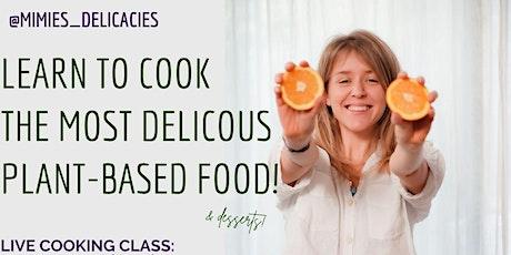 Live Vegan Cook Along Workshop tickets