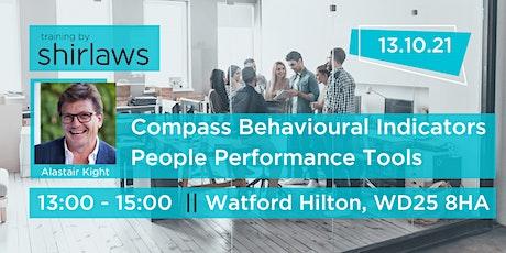 Behavioural Indicators - People Performance Tools (PM) tickets