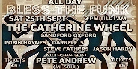 Bless The Funk All Dayer tickets