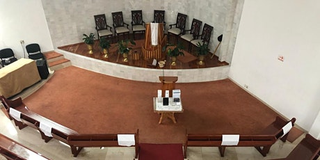 Culto presencial Iglesia Belén boletos
