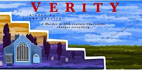 """Verity""  a play by Linda Shevlin tickets"