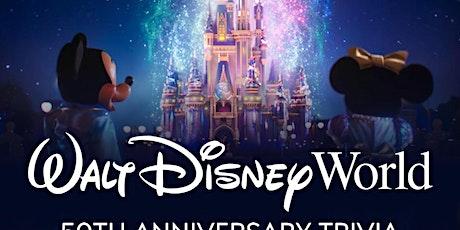 Walt Disney World 50th Anniversary Trivia via Facebook LIVE tickets