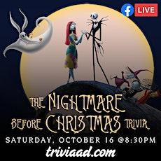 The Nightmare Before Christmas Trivia via Facebook LIVE tickets