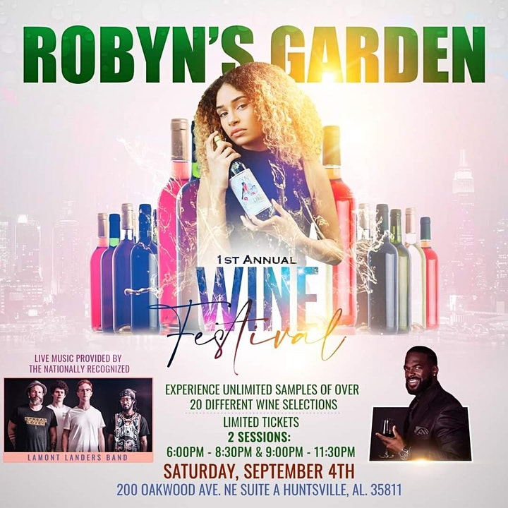 Robyn's Garden 1st Annual Wine Festival image