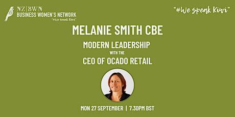 Headline event: Modern leadership with Mel Smith CBE & CEO of Ocado tickets