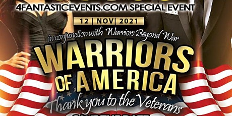 Warriors of America Recognition Concert & Dance Gala tickets