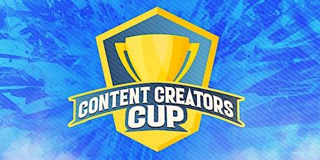 Content Creators Cup tickets