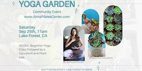 Yoga Garden Community Event tickets