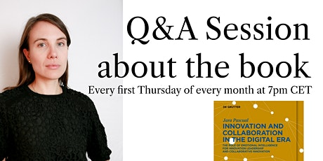 """Q&A Session about the Book """"Innovation & Collaboration in the Digital Era"""" tickets"""