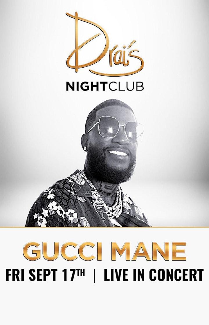 Gucci Mane  @ Vegas Nightclub image